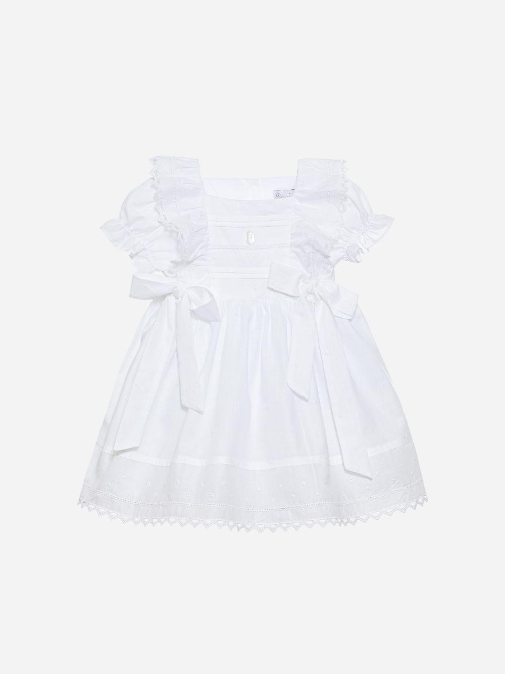 Vestido em Voile Branco