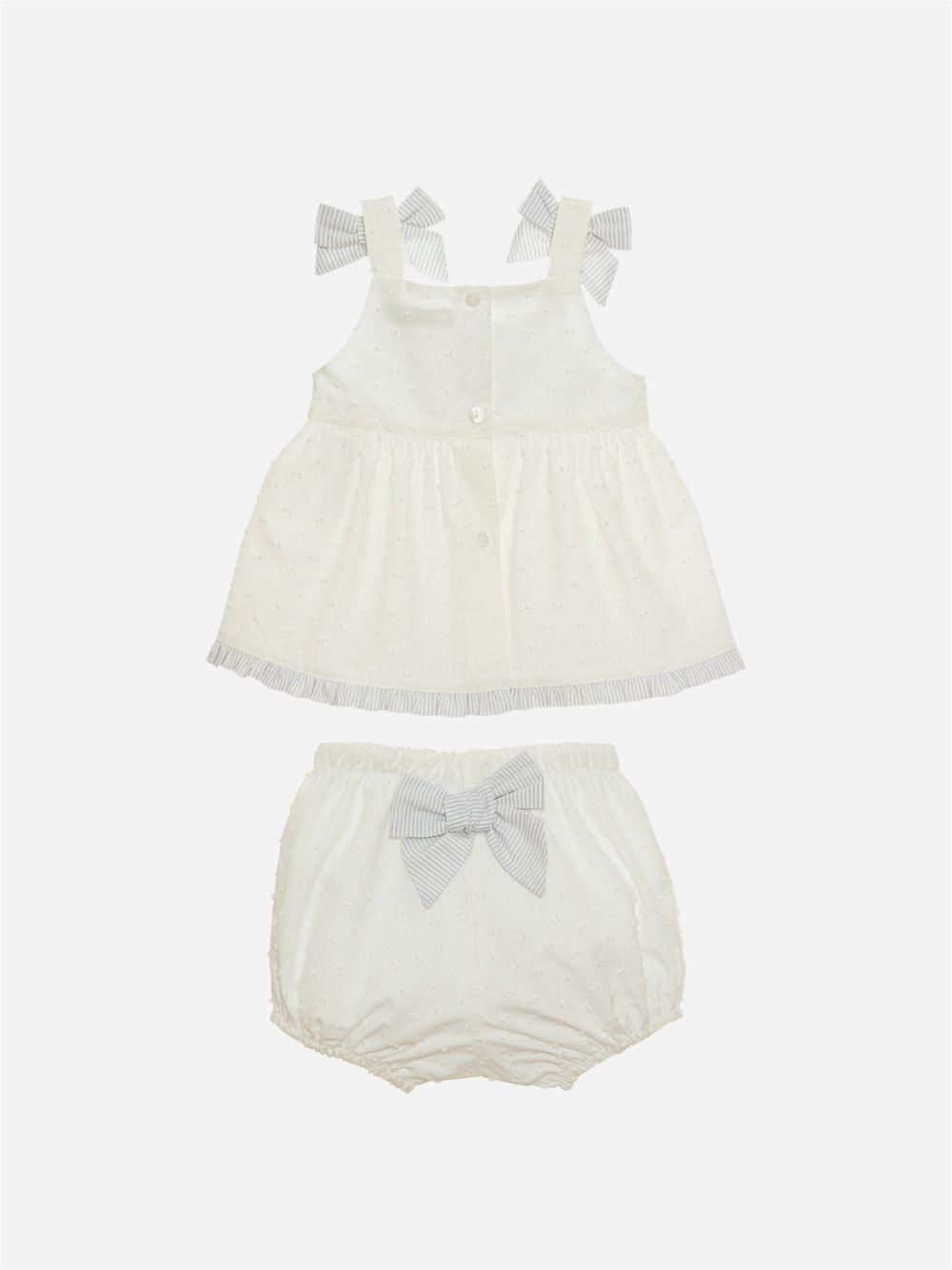 Conjunto Branco Bebé Menina