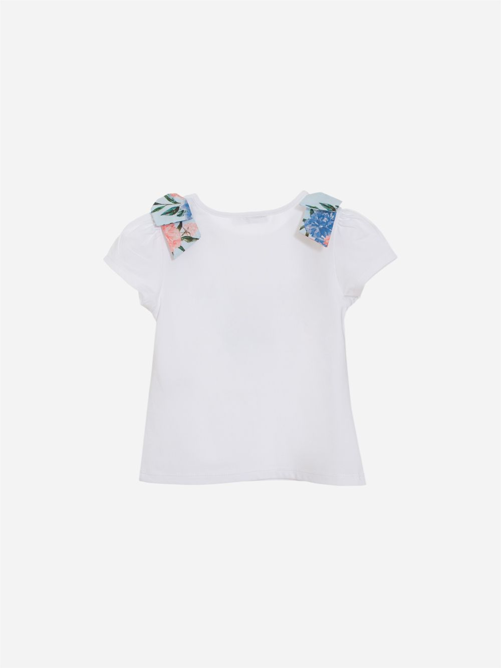 T-shirt em Jersey Branco