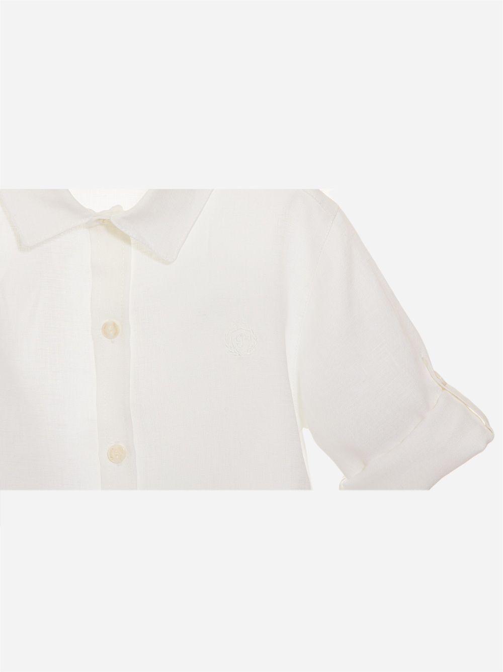Camisa em Linho Branco