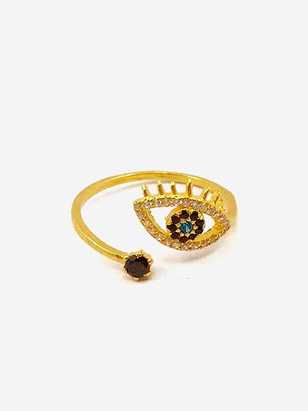 Gold Ring Olho Turco   Made to Envy