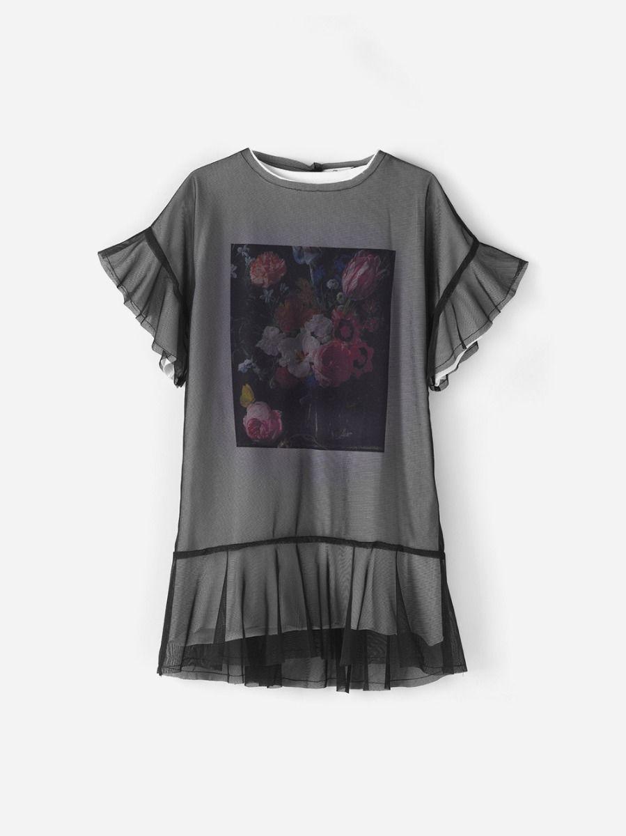 Vestido Camisola Tule | Andorine