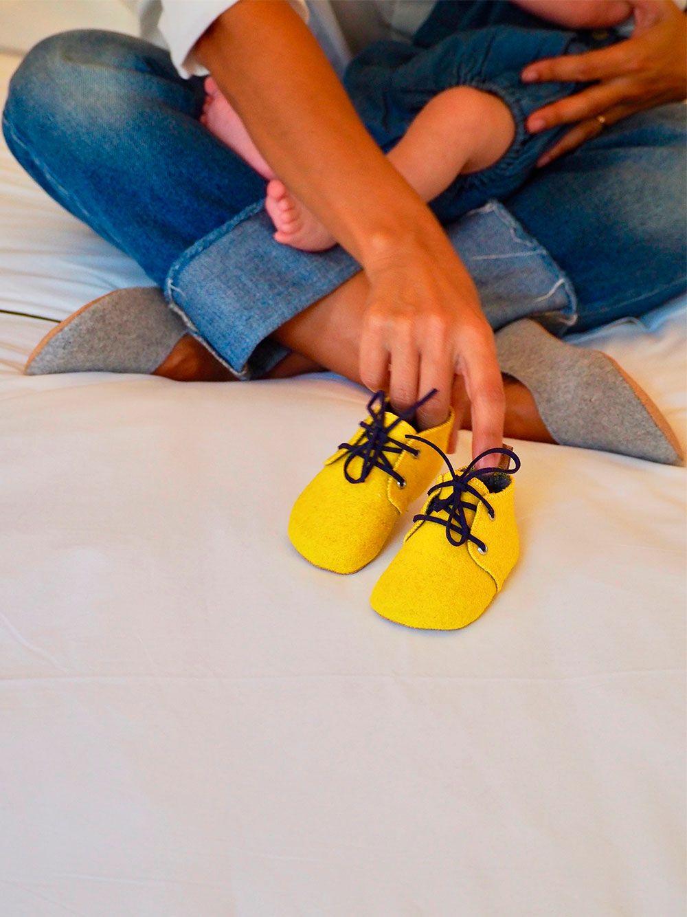 Yellow Mookie Shoe | Noogmi