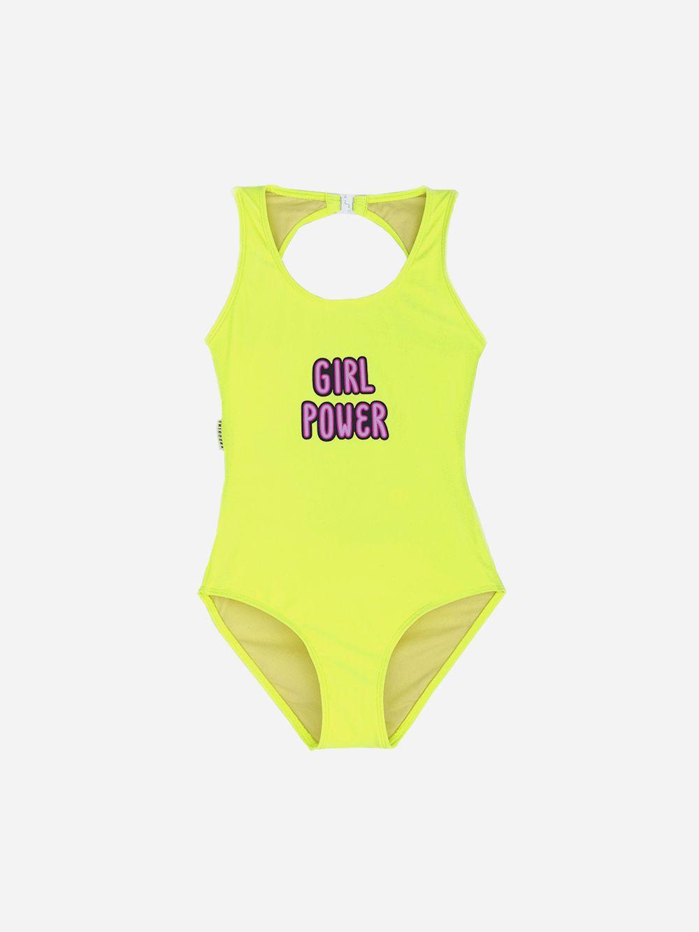 Fato de Banho Amarelo Girl Power | Andorine