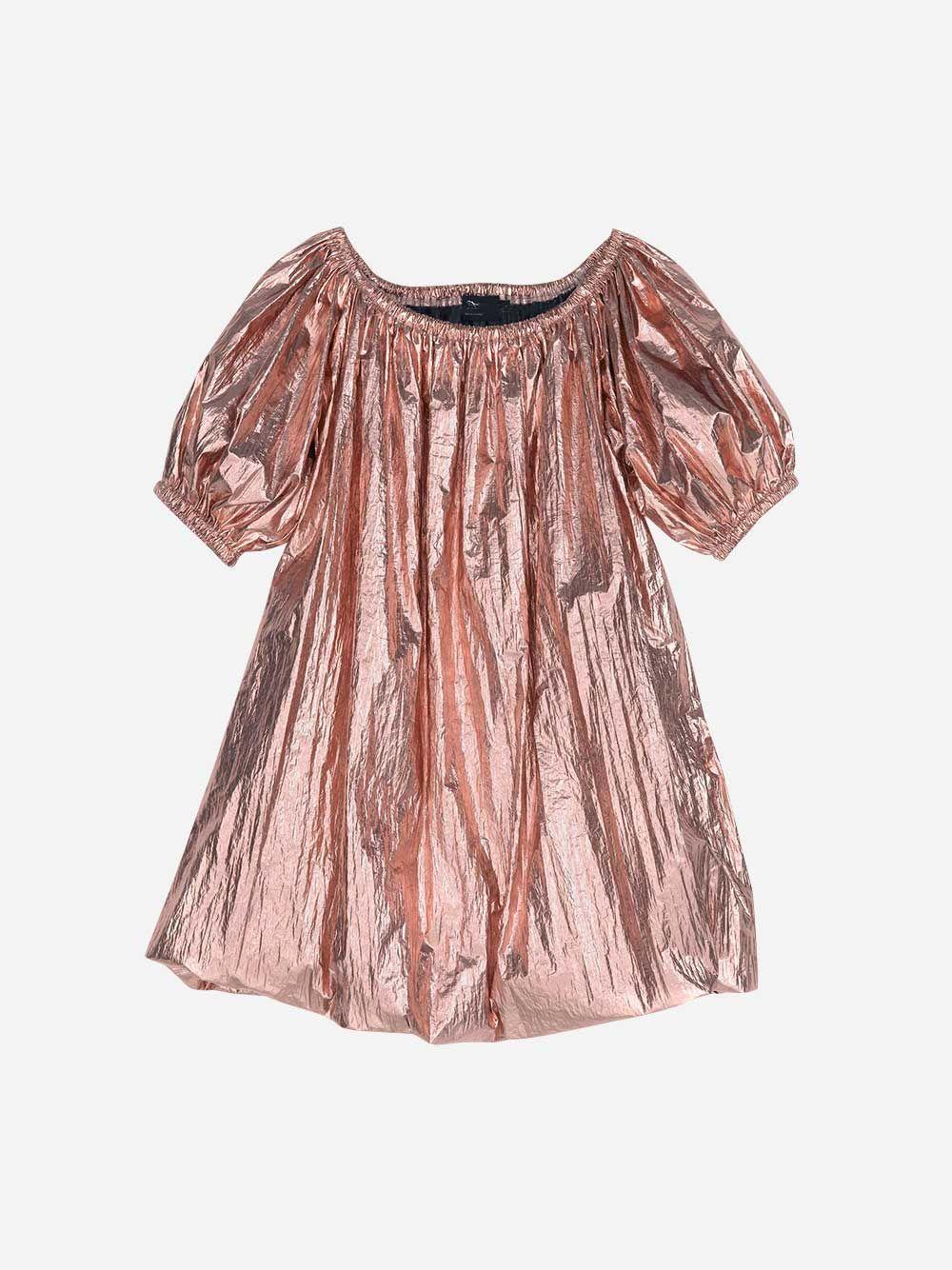Oversized Metallic Dress | Andorine