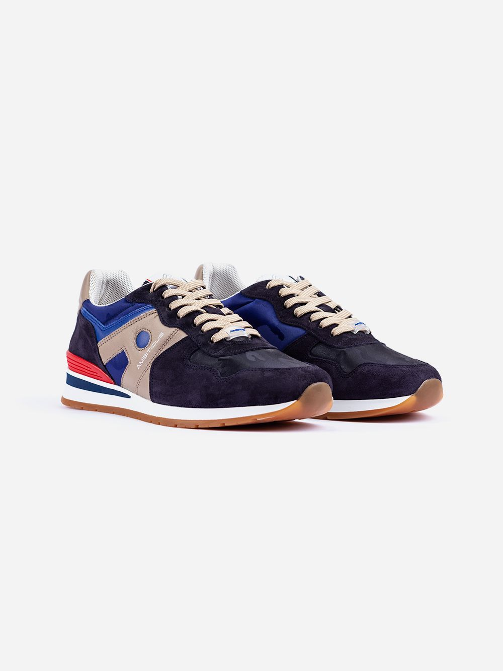 Blue Suede Sneakers | AMBITIOUS