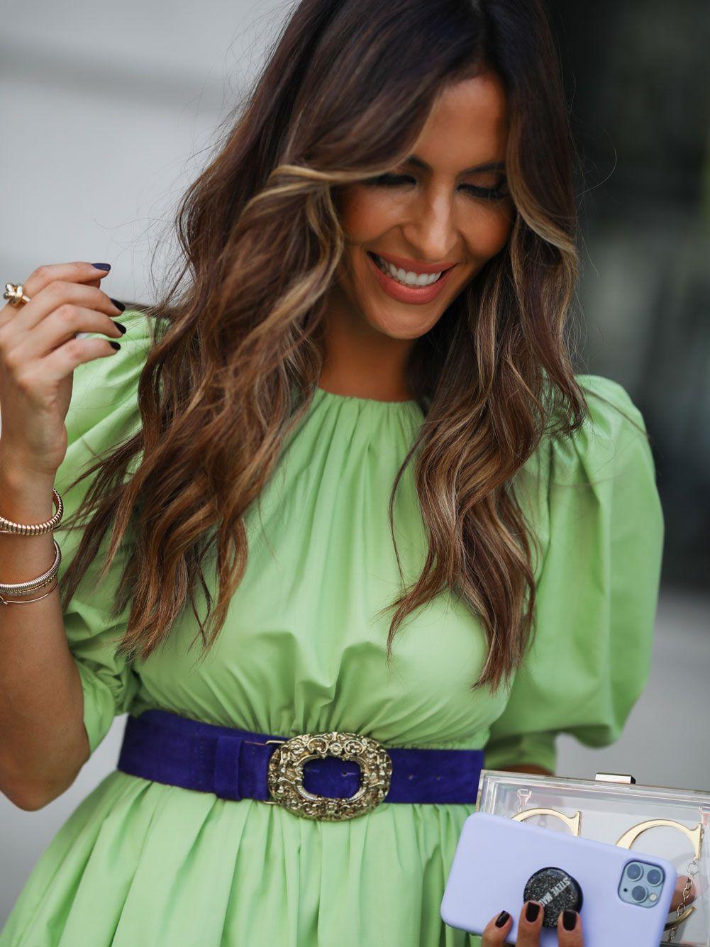 Vestido Verde Lima Popeline | Kaoâ