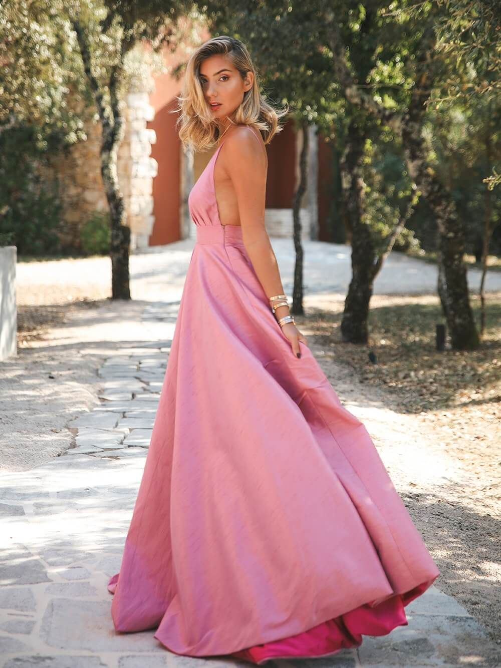 Two Tone Pink Gown   Kaoâ