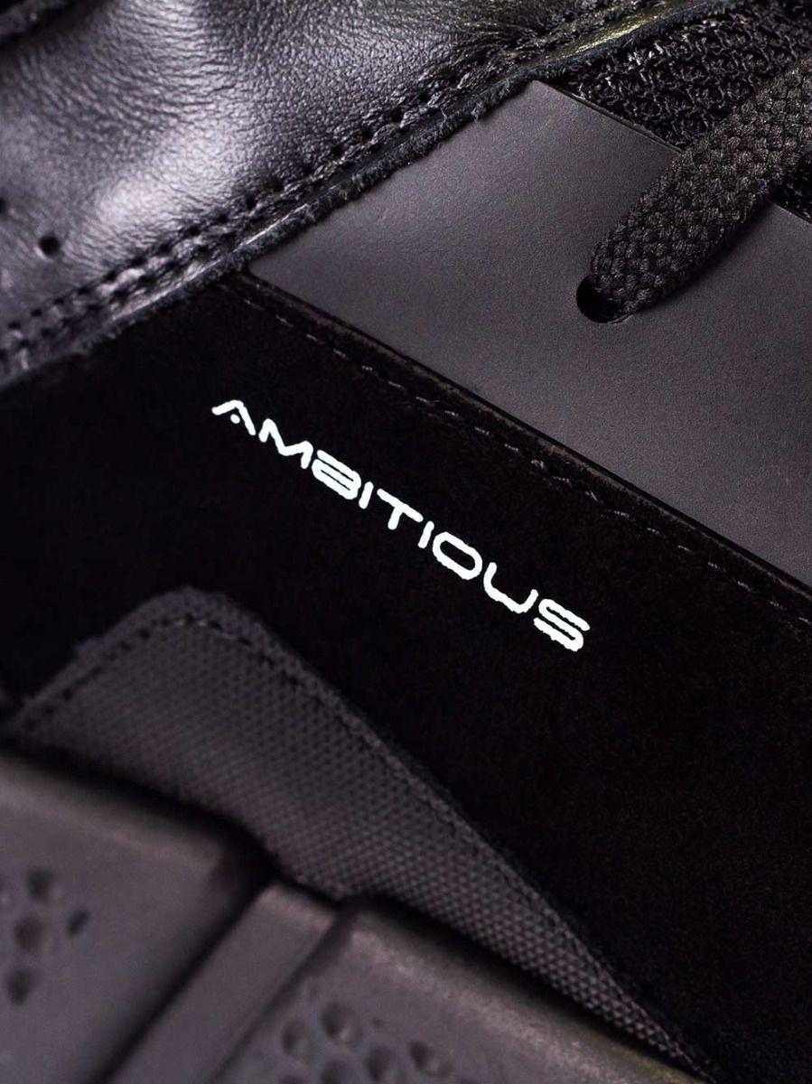 Sapatilhas Pretas Pele | Ambitious