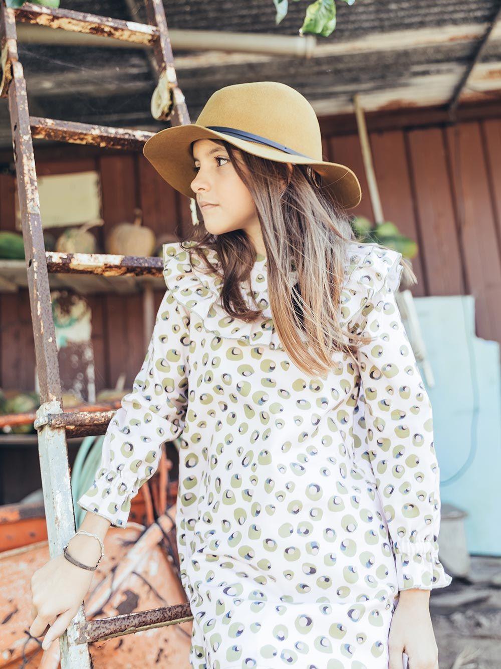 Vestido Azeitona | Paper Boat