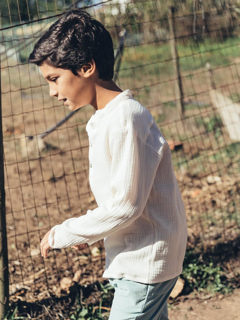 Camisa Ivory Sparrow | Paper Boat