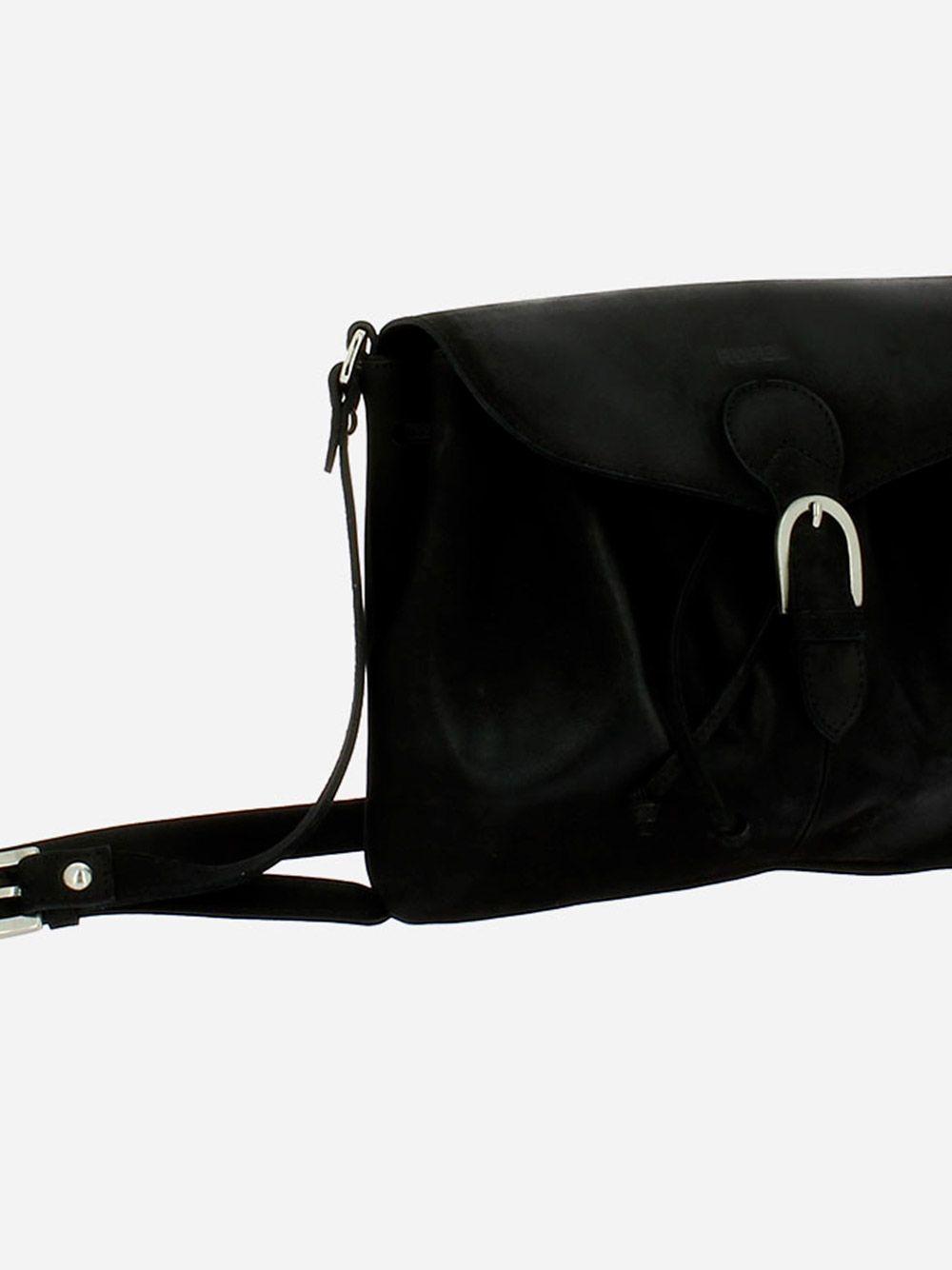 Star Black Crossbody Bag | Rufel