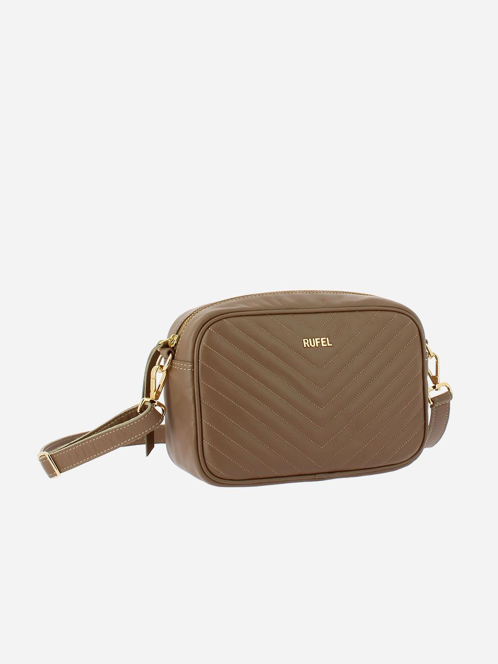 Nature CH Taupe Crossbody Bag | Rufel