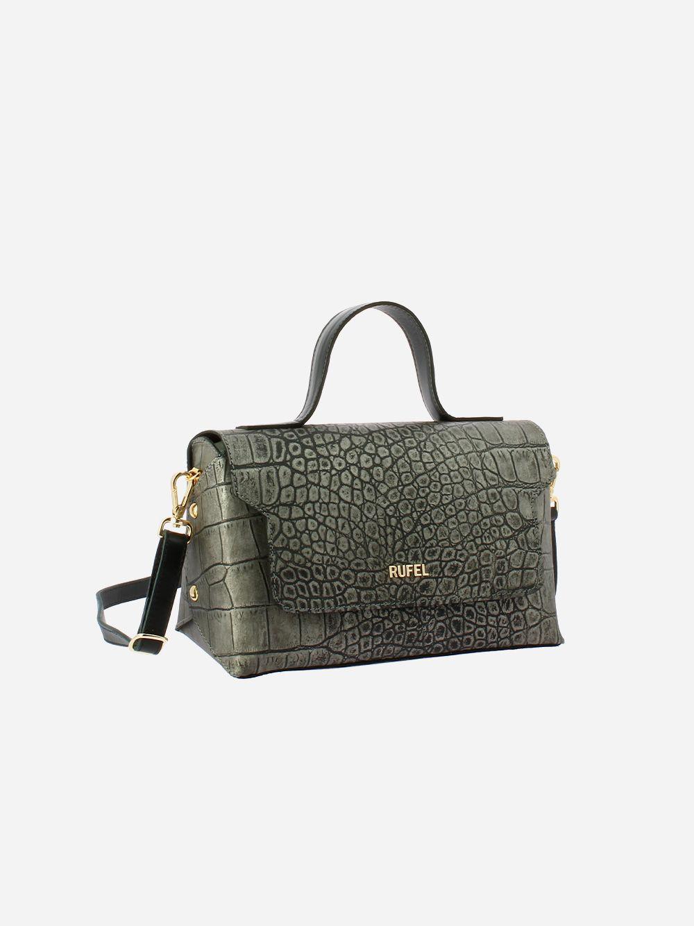 Aidi Black Crossbody Bag | Rufel