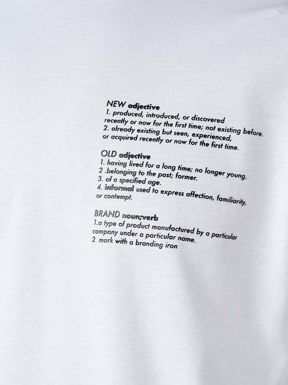 T-Shirt New Old Brand Branca | Sanjo