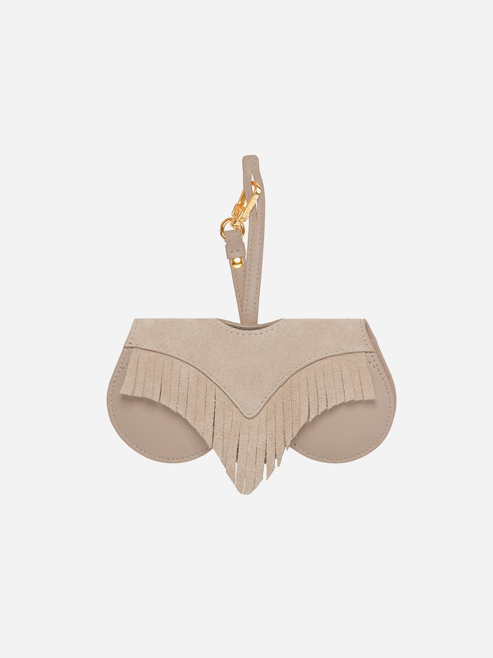 Taupe Fringes Sun Cover | Any Di