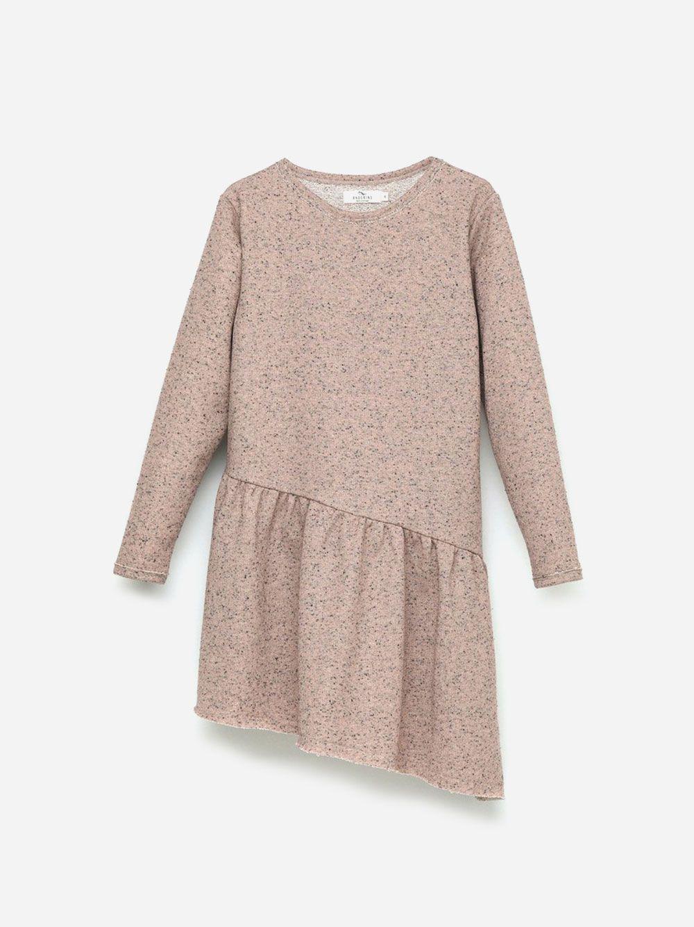 Assymetric Dress Pink