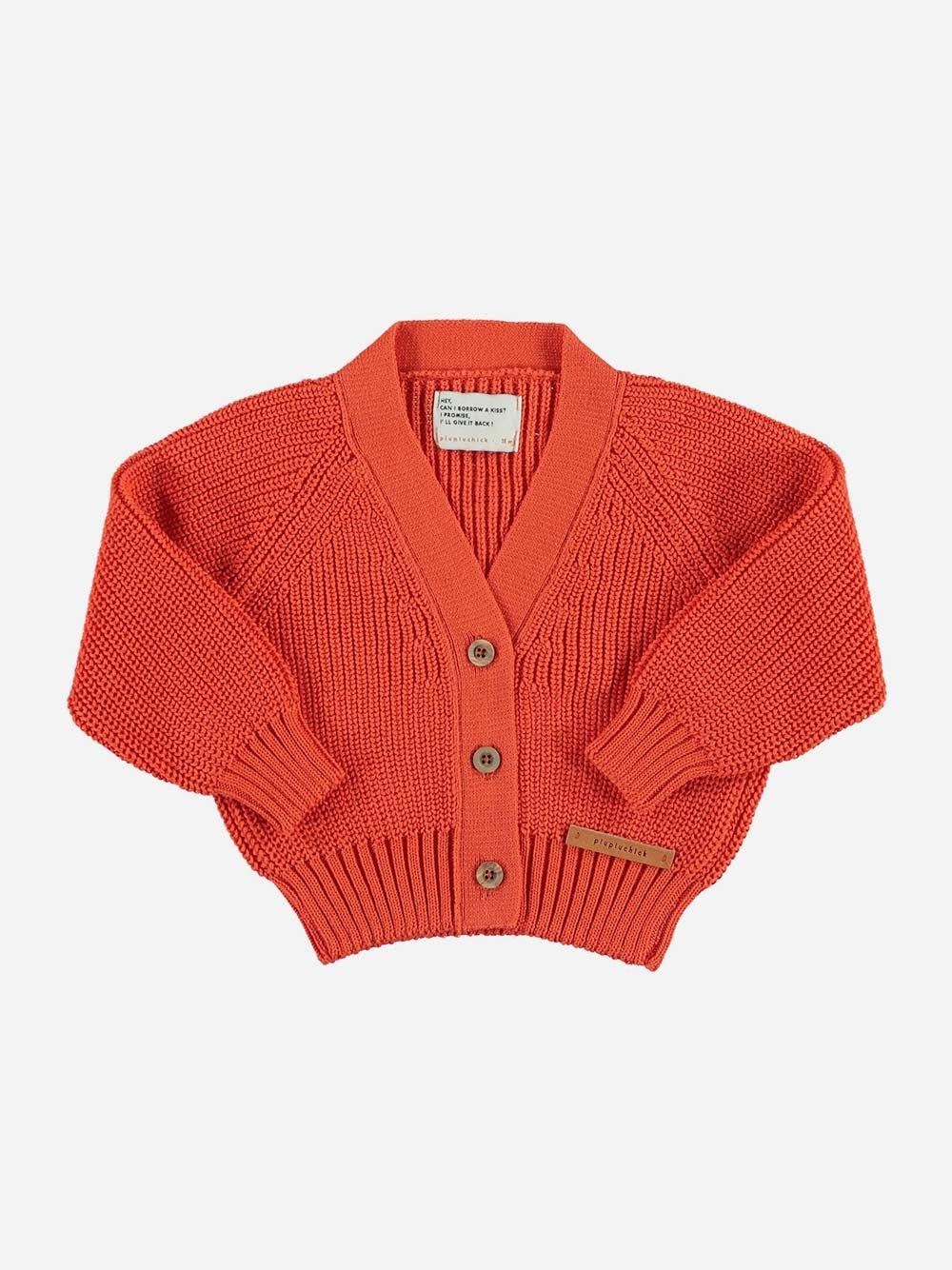 Baby Knitted V-neck Jacket