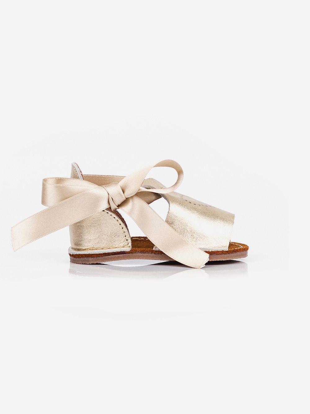 Sandálias Douradas para Bebé Baby Lisa | Pikitri