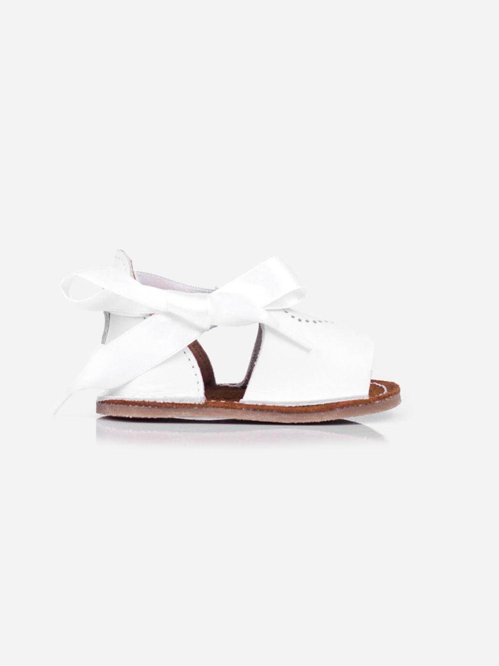 Sandálias Brancas para Bebé Baby Lisa | Pikitri