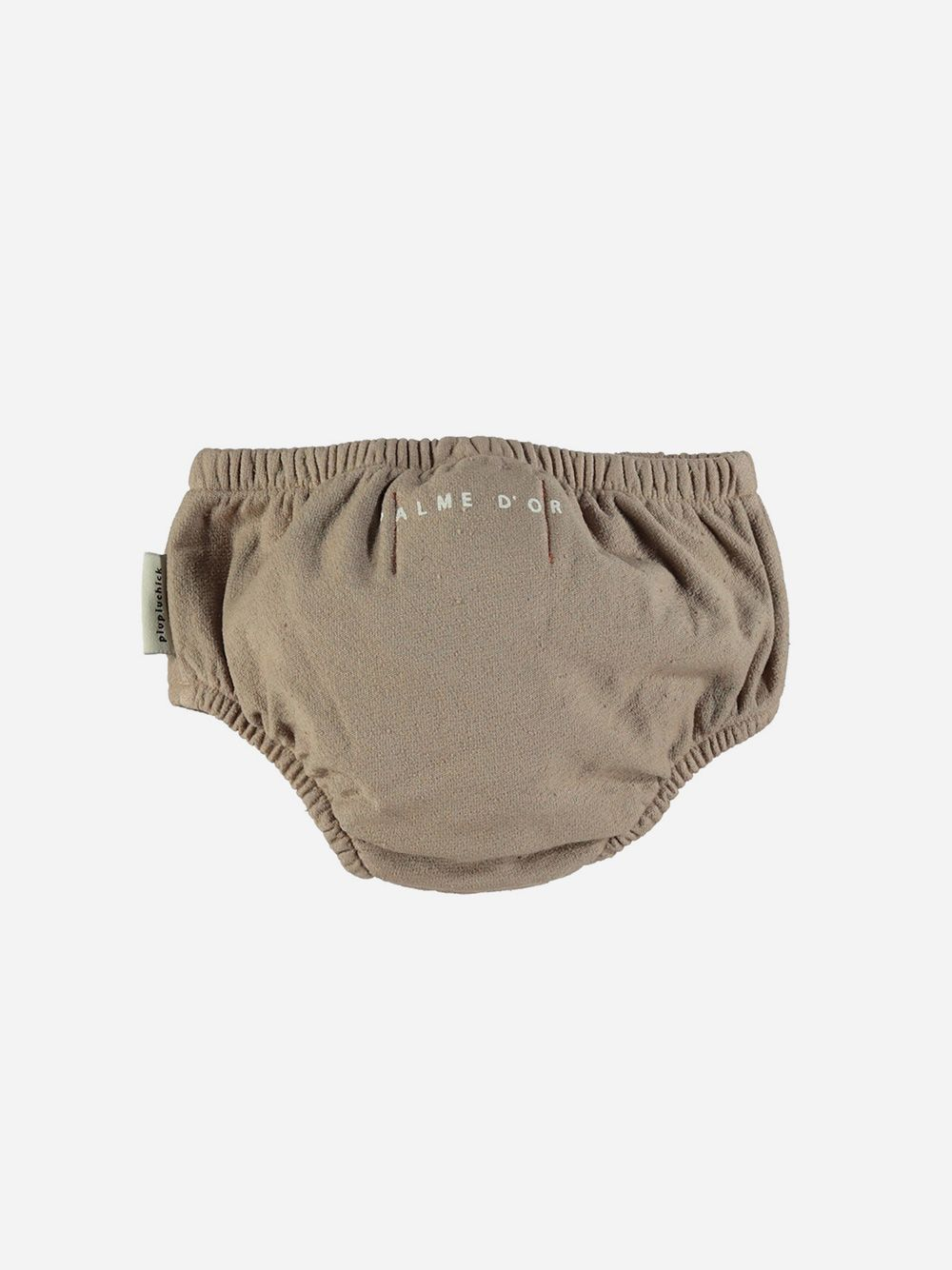 High Waisted Shorties Taupe