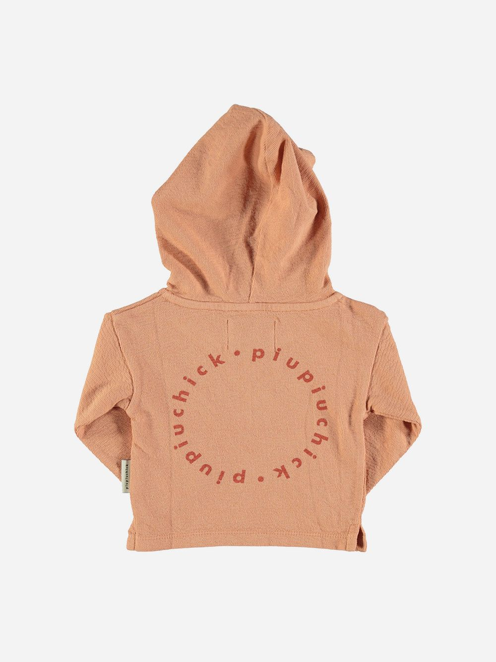 Baby Hooded Lonsleeve with Logo