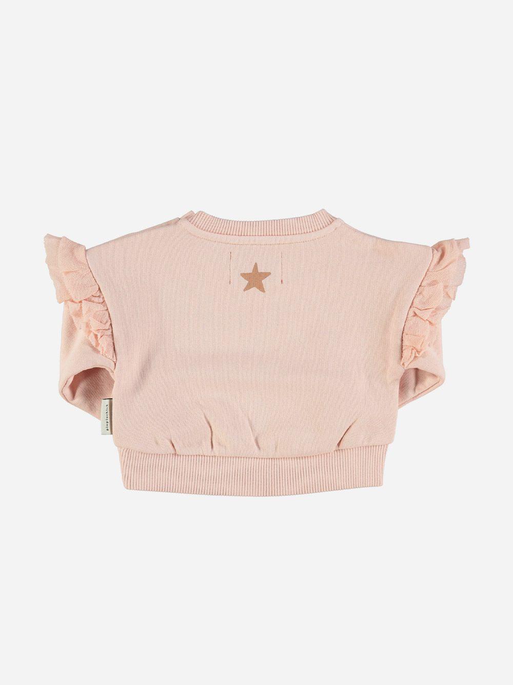 Baby sweatshirt with Frills on Shoulders