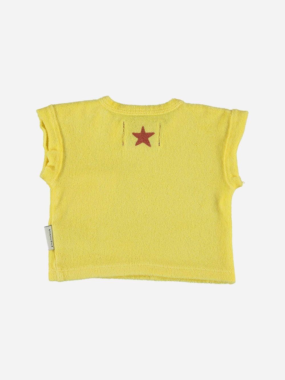 Baby Terry Cotton T-shirt Yellow