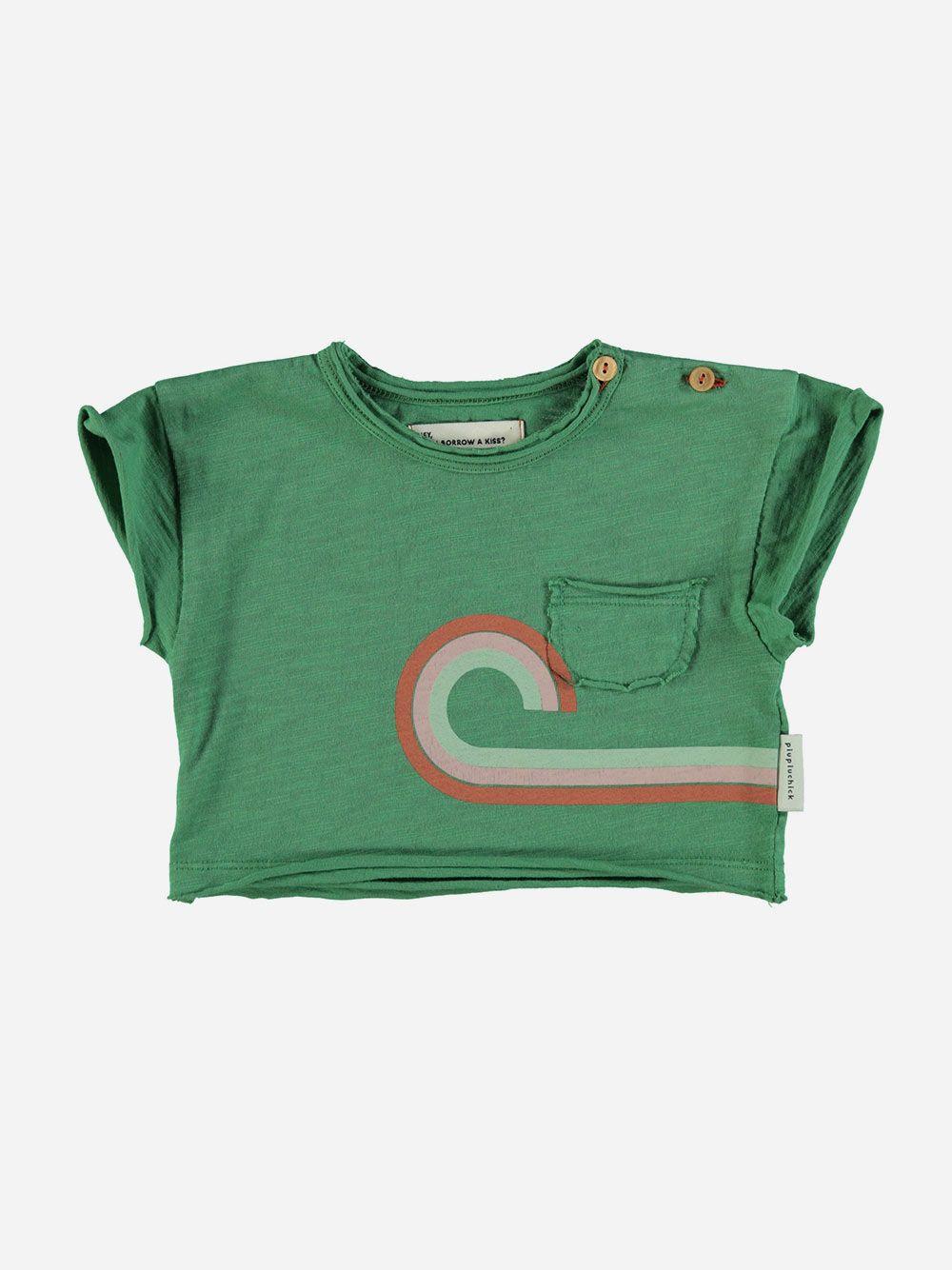 Baby T-shirt Green