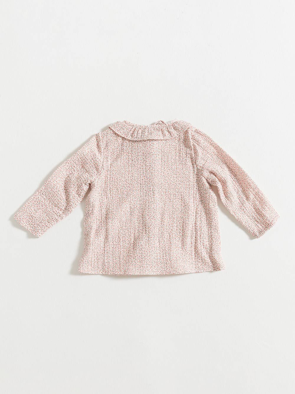 BLOUSE / PINK FLOWERS GAUZE | Grace Baby and Child