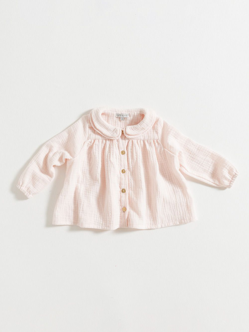 BLOUSE / PINK GAUZE   Grace Baby and Child
