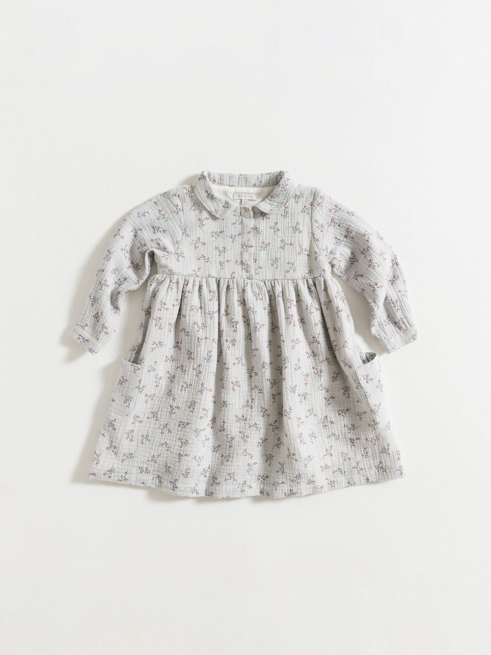 DRESS / BLUE FLOWERS GAUZE   Grace Baby and Child