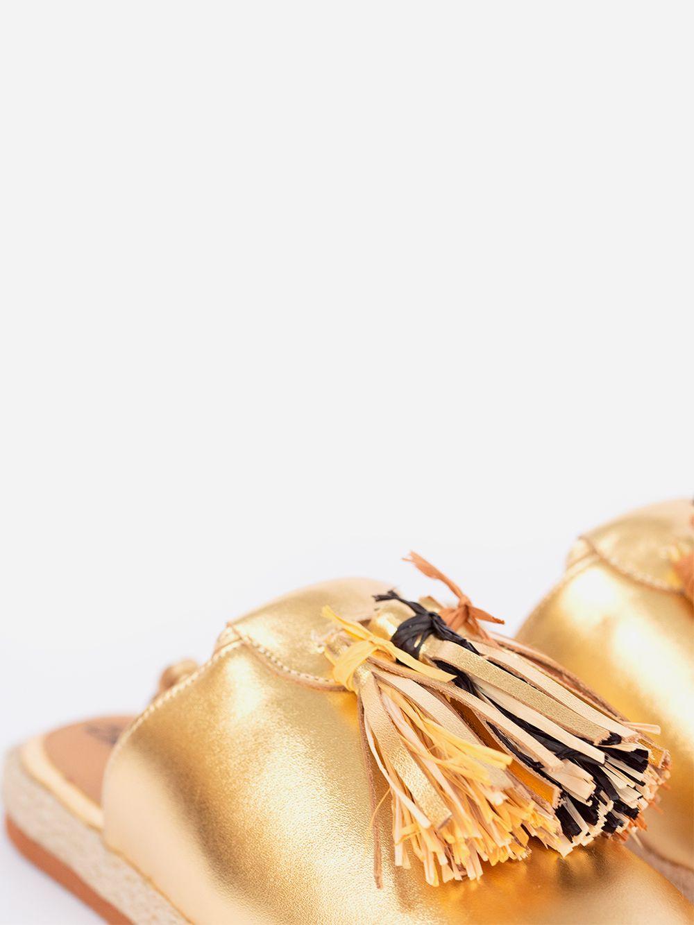 Golden Espadrilles Baçal | Entrudo