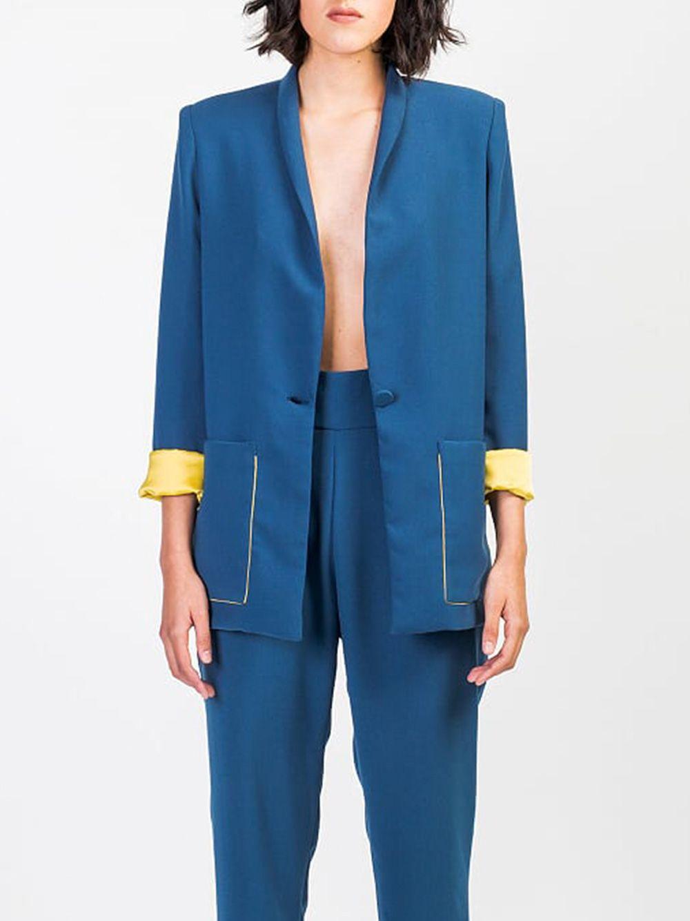 Blazer Vega Azul | Hyena Tailor Made
