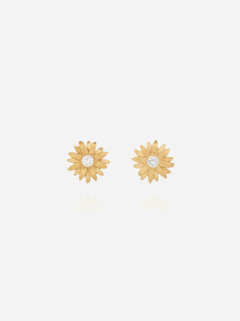 Marigold Golden Erarrings   Sopro