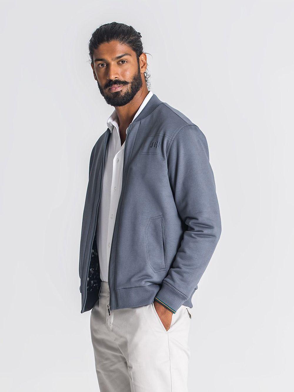 Bomber Cinzento Grey Daniel