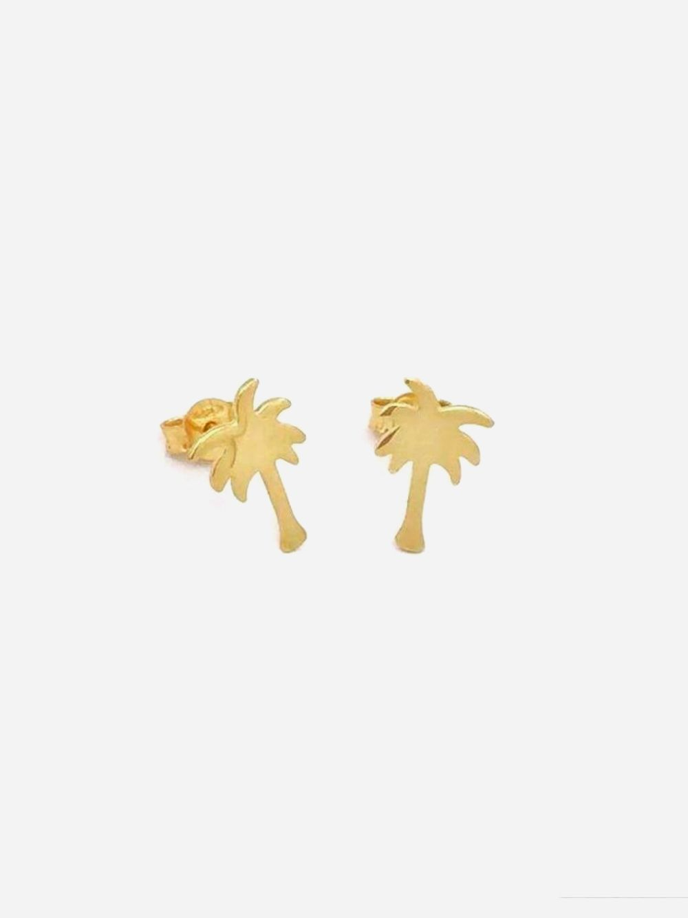 Gold Earrings Palm Tree | Made to Envy