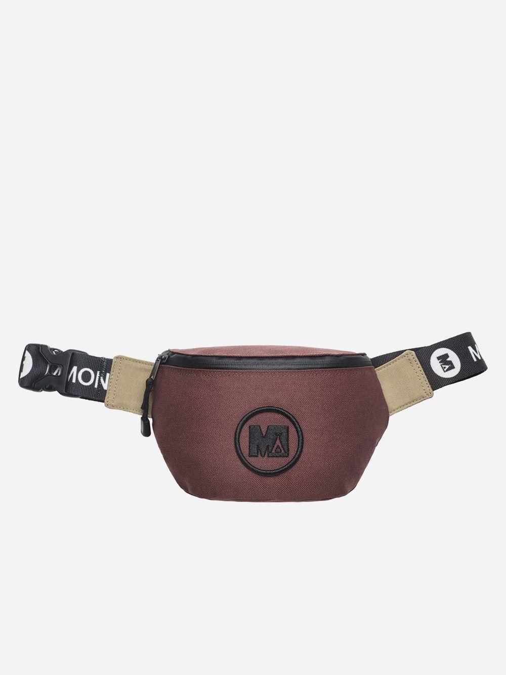 Bolsa de Cintura Castanha & Bege Claro | Monte Campo