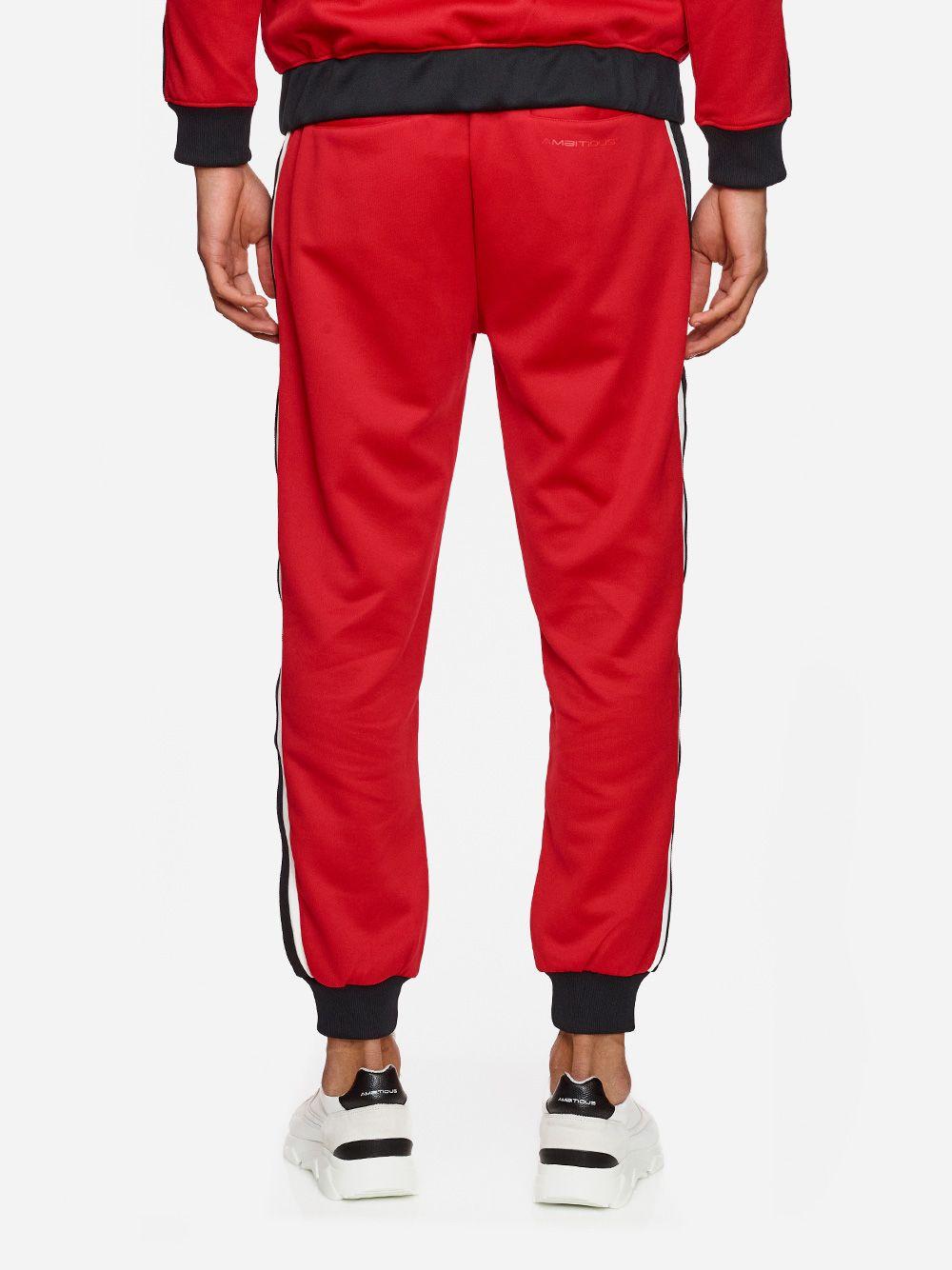 Calças Vermelhas Riscas | AMBITIOUS