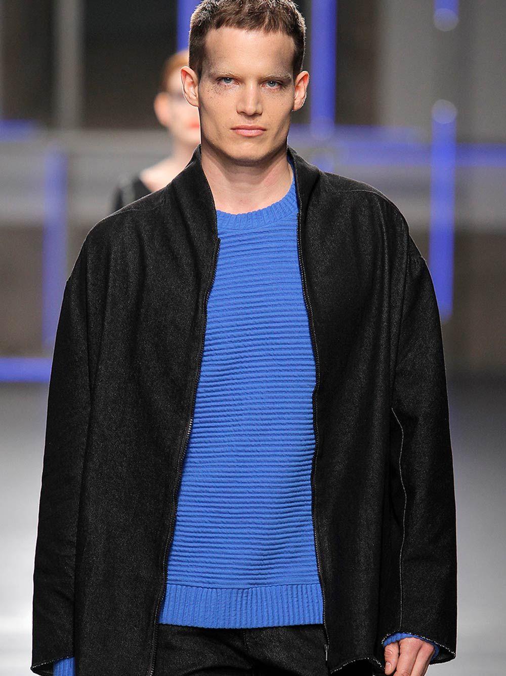 Sweatshirt Azul Unissexo Egon | Carla Pontes