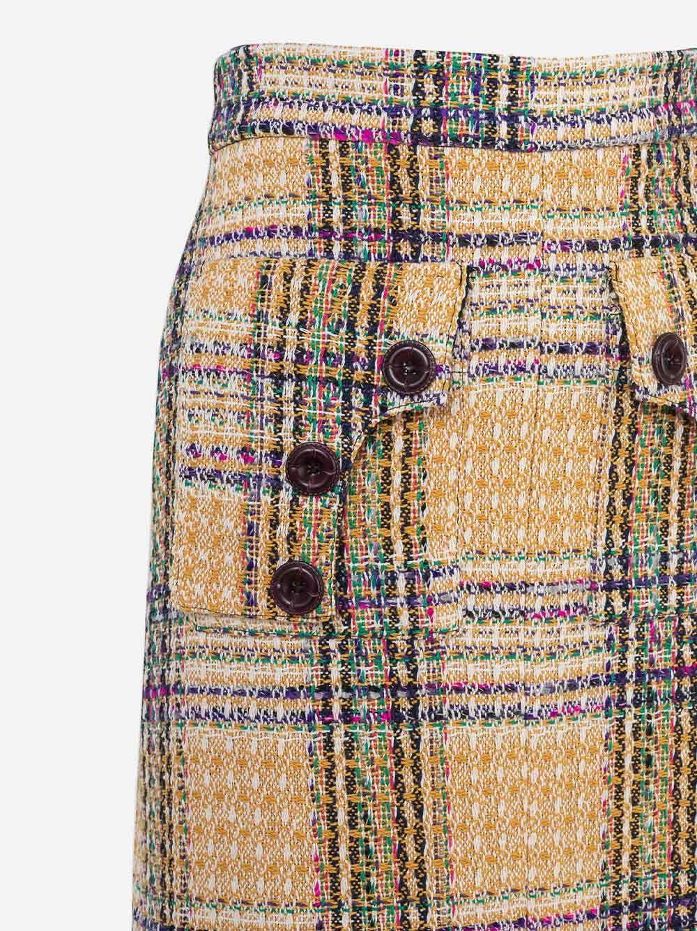 Mini-Saia Gia Tweed | Carolina Machado