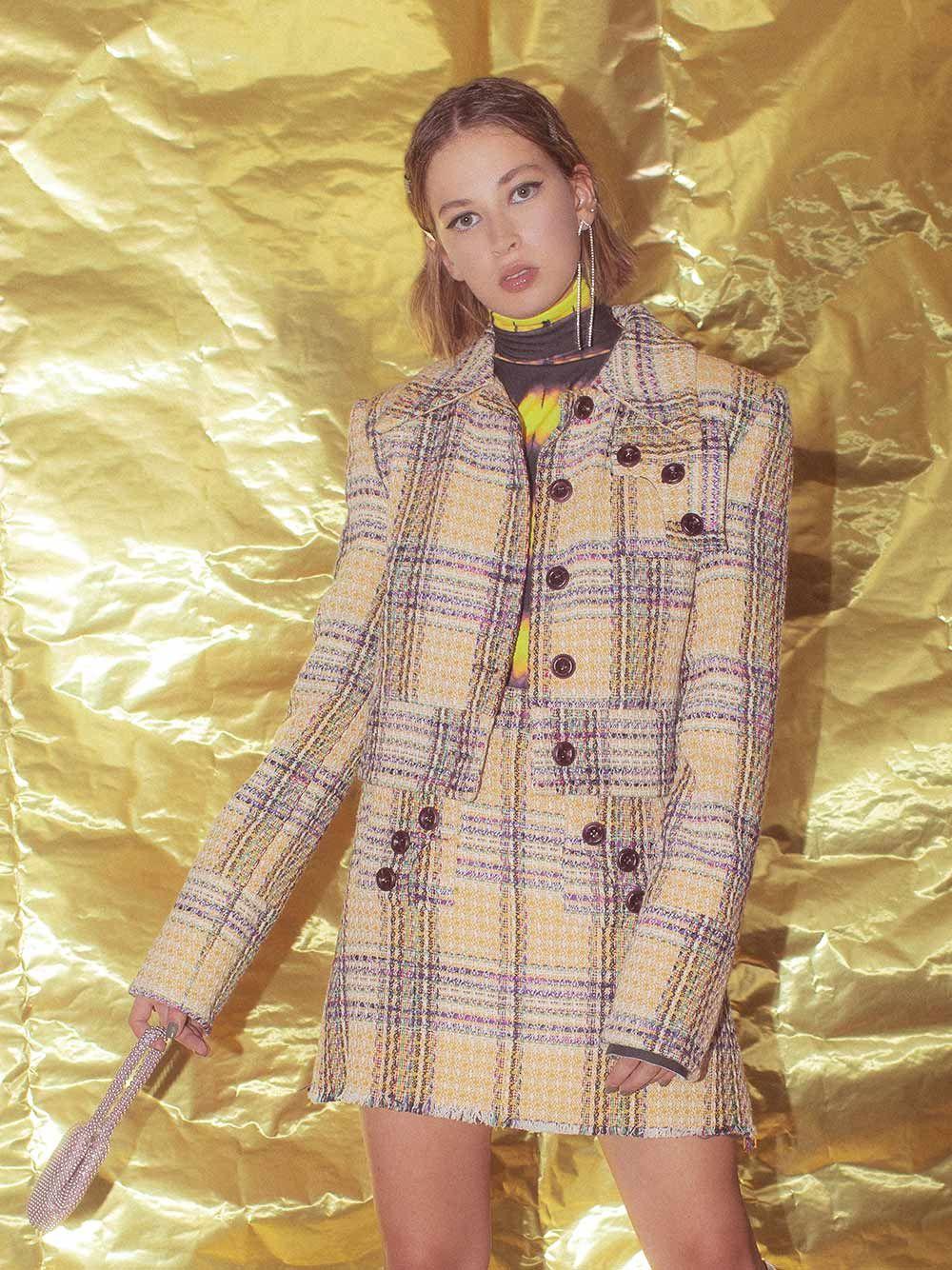 Amber Tie-dye Turtleneck | Carolina Machado