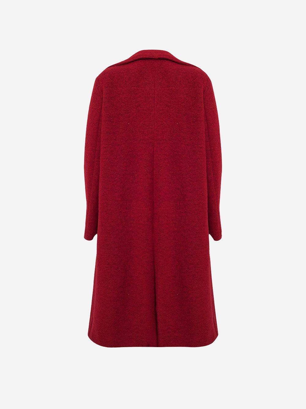 Red Long Coat   Carolina Machado