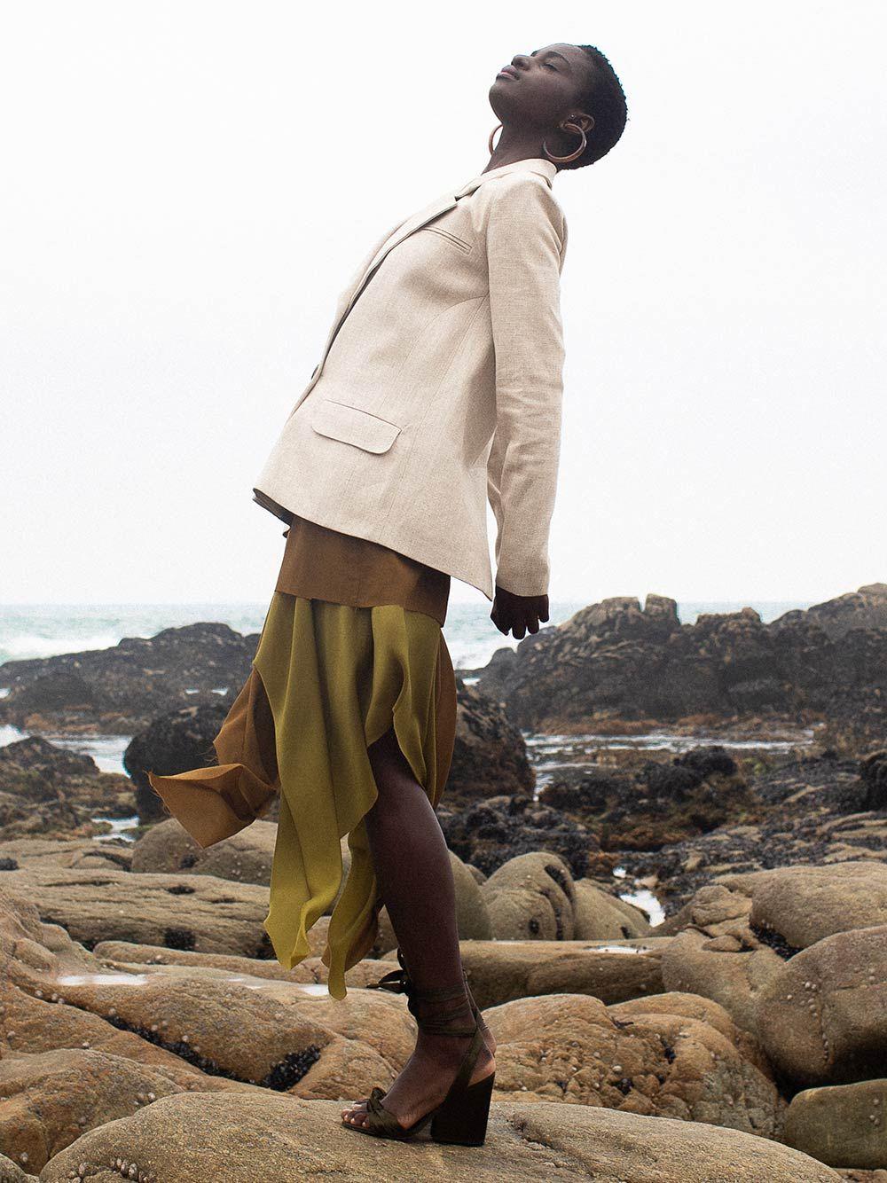 Brown Mocha Skirt | Carolina Machado