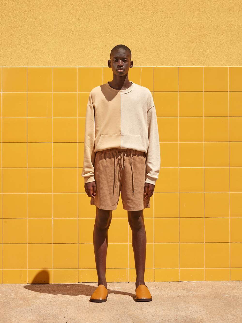 Sweatshirt Bicolor Contraste Direito-Avesso | Rita Sá