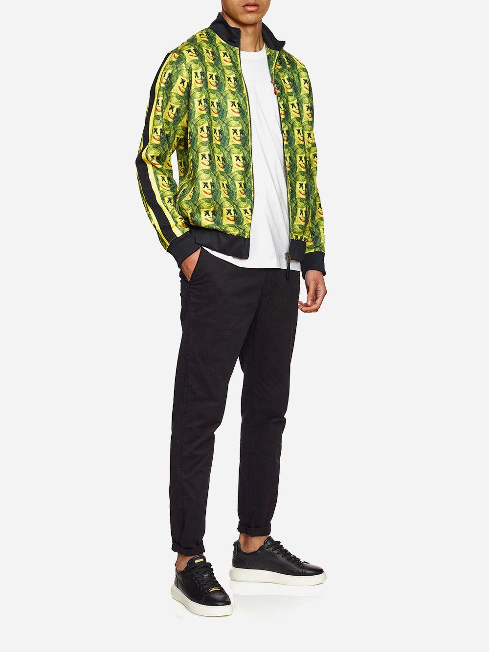 Casaco Amarelo e Verde | AMBITIOUS