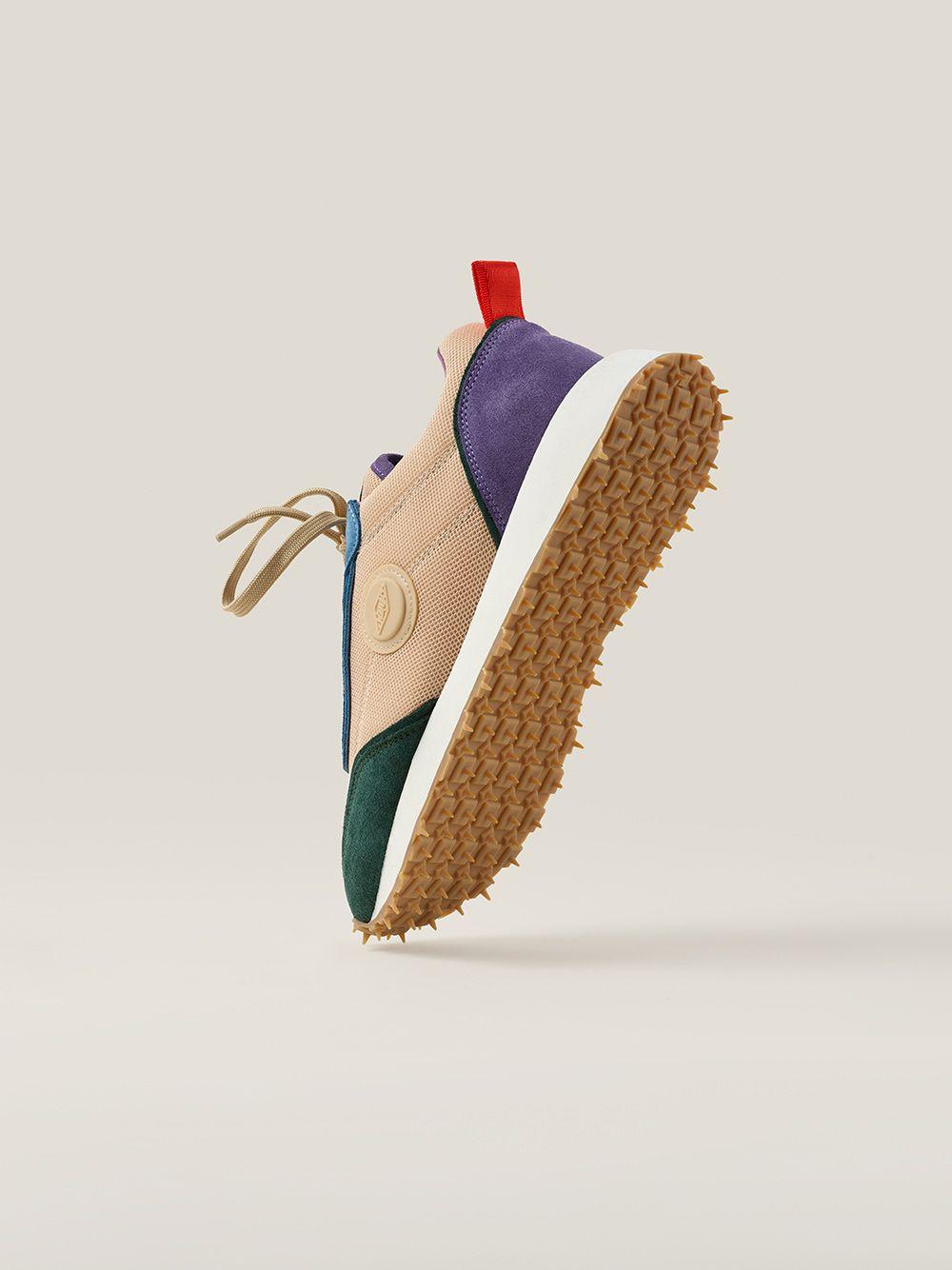 Sapatilhas Retro Runner Multicoloridas