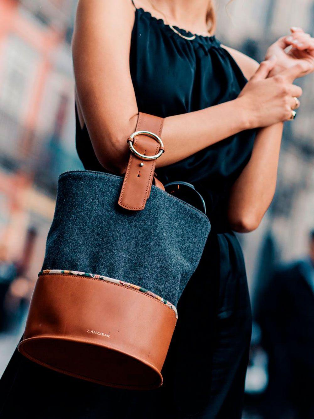 Trendy Bag Cinza | Zanzibar
