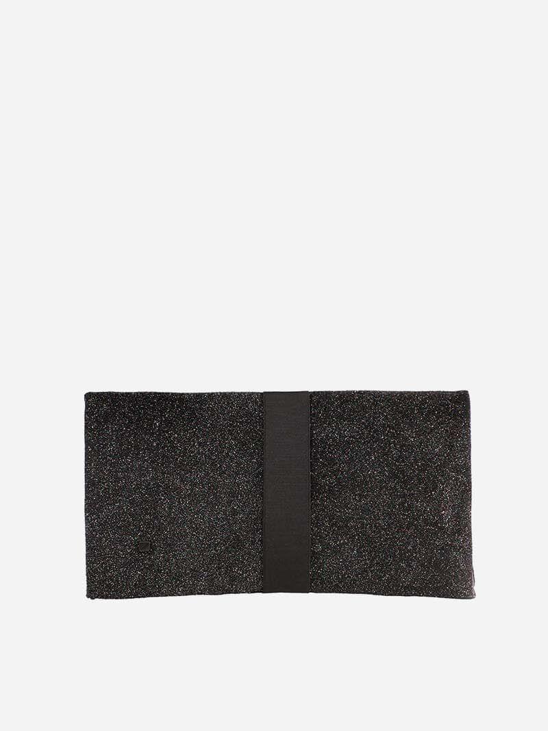 Black Glitter Clutch | Maria Maleta