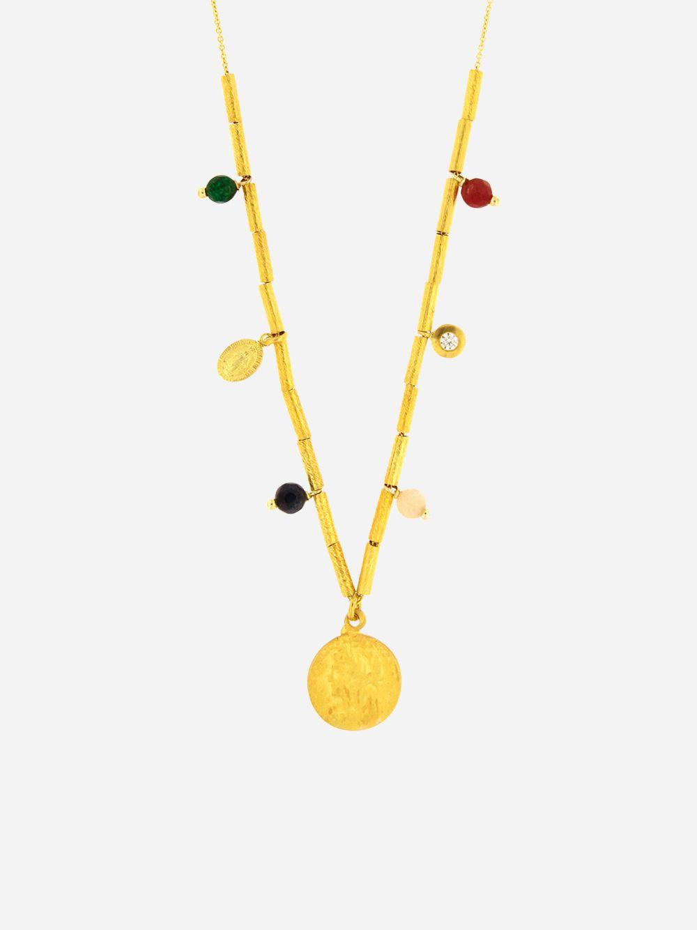 Havana Necklace   Mesh Jewellery